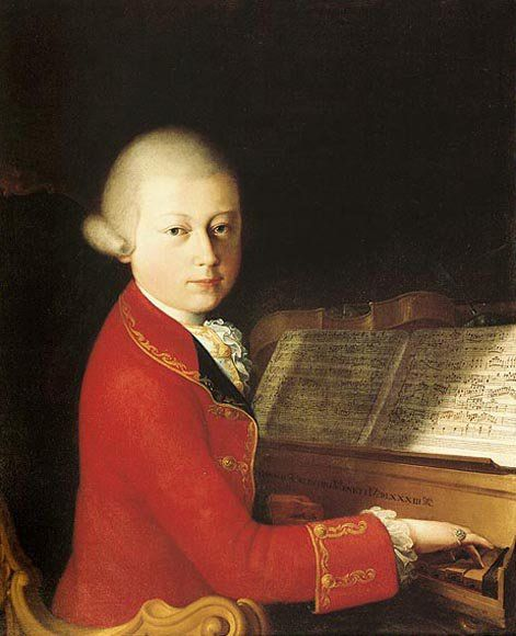 Mozart en Italie a l'âge de 14 ans